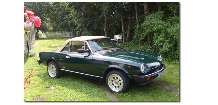Fiat Spider 124 DS (Photo)