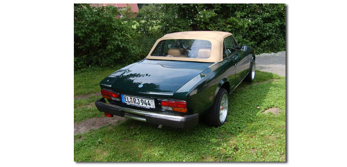 Fiat Spider 124 DS - bon voyage (Photo)