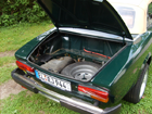 Le coffre du Fiat Spider original (Photo)