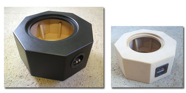 Subtwo wheelhollow cases Special for audiophile CarHiFi projects